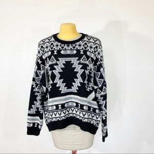 ⭐️Urban Outfitters BDG Fair Isle Oversized Sweater